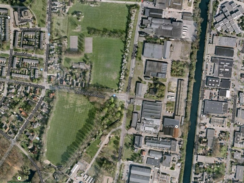 Google maps energiefabriek zwitsal terrein